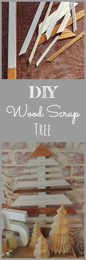 DIY Wood Scrap Tree