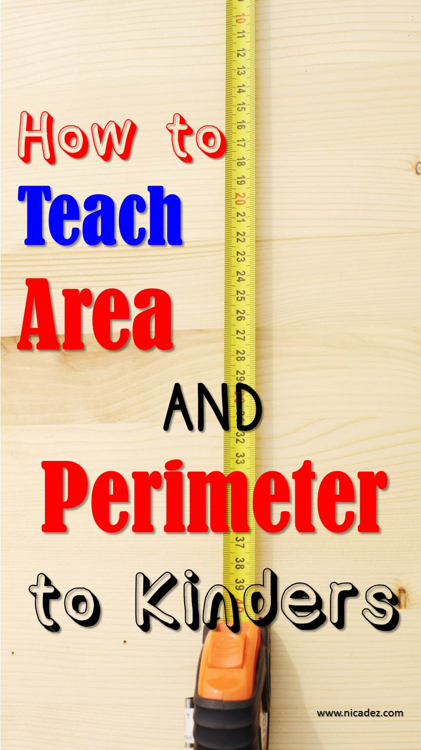 Tips to teach area and perimeter.