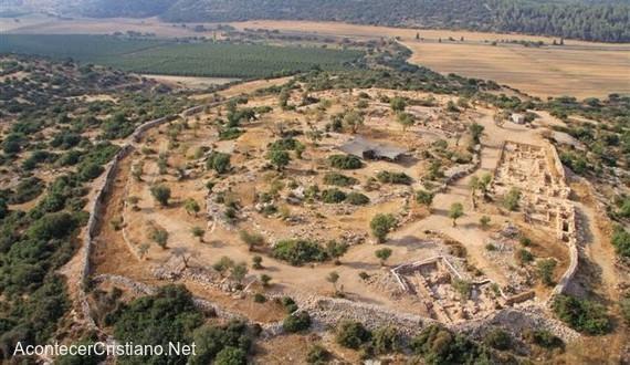 Lugar donde se encontró las ruinas del palacio del rey David