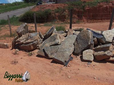 Pedras para banco de pedra, tipo pedra moledo.