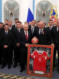 Putin gives more!