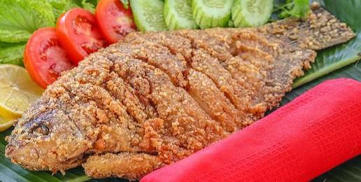 Resep Cara Membuat Gurame Goreng Crispy  Renyah