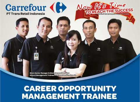 Lowongan Kerja Terbaru Carrefour - PT Trans Retail Indonesia (Transmart) | Program Management Trainee Tahun 2019