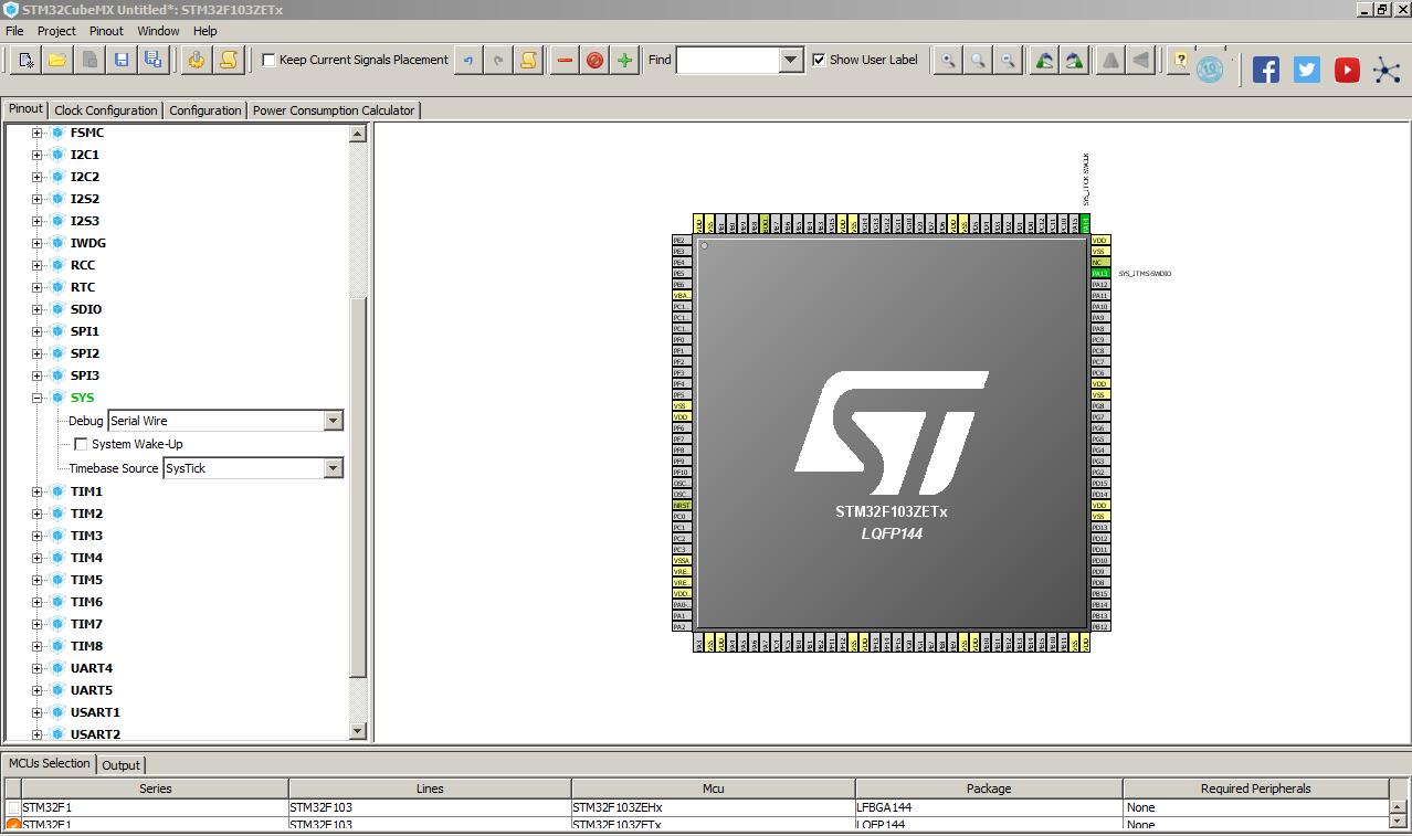 STM32 Program Download and Debug Problem | 64pin