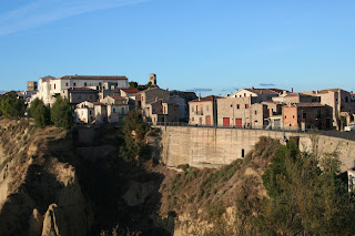 Aliano is the town near Matera in Basilicata upon which Carlo Levi based his fictional town of Gagliano