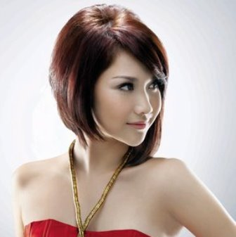 Model Rambut Asymmetric