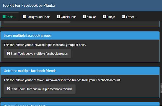 Cara Menghapus Semua Teman Facebook Secara Cepat