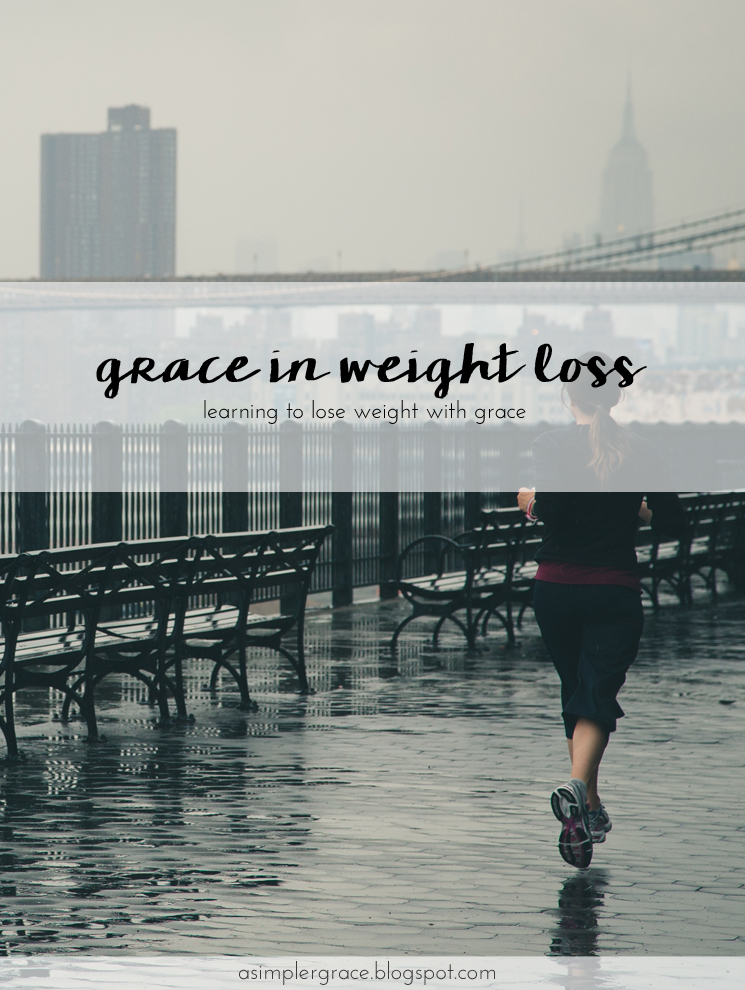 Finding grace in being realistic and sticking to your health goals