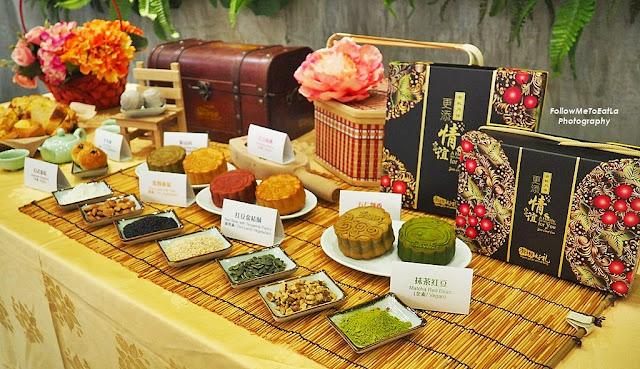 2017 Collections Of Cantonese & Suzhou Style Mooncake Selection