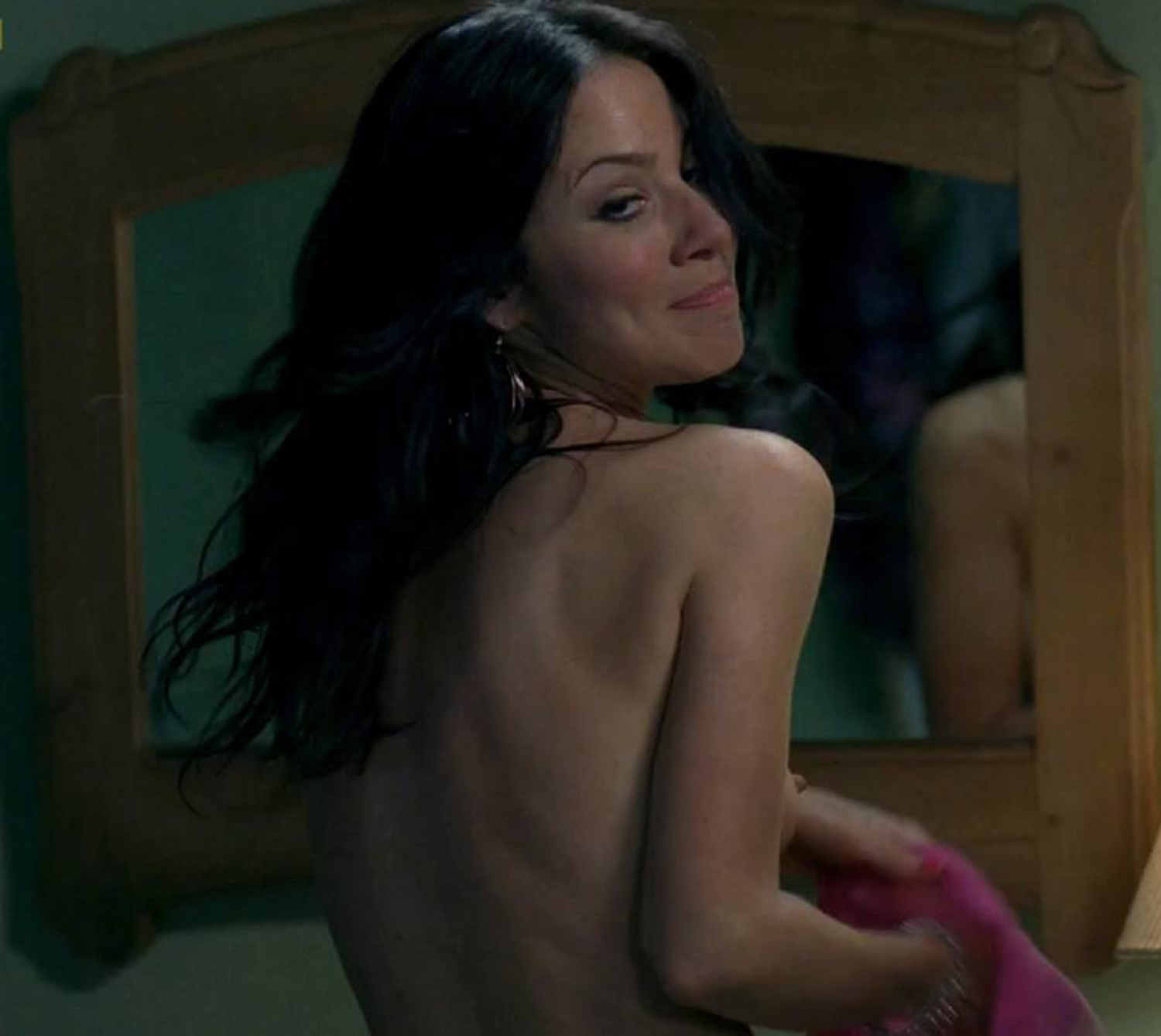 Naked lynn collins in angels crest ancensored
