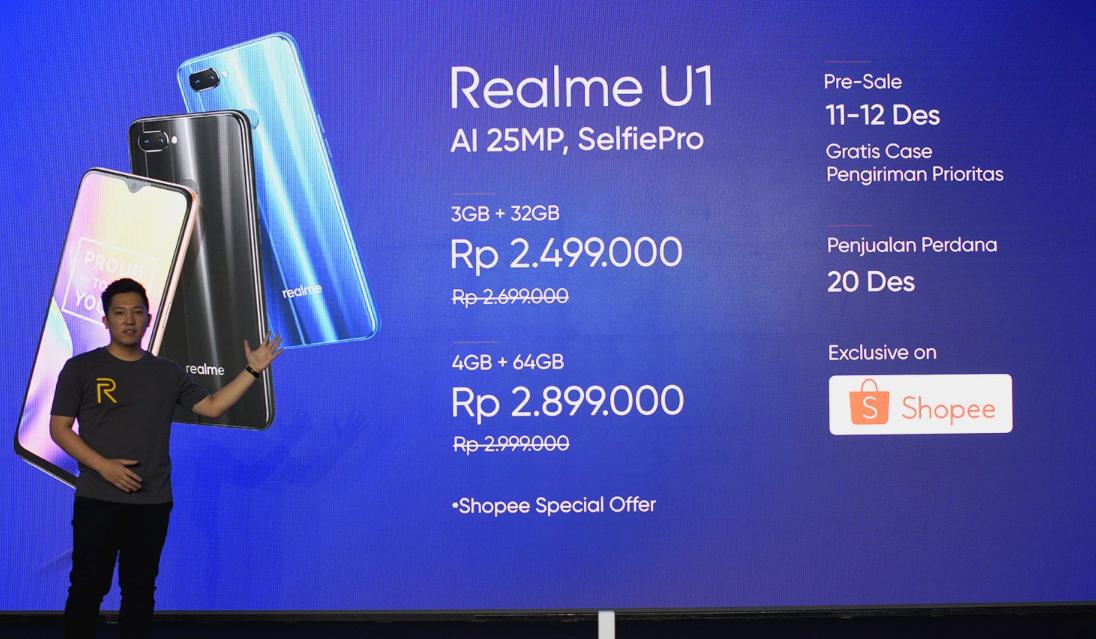Realme U1 Indonesia