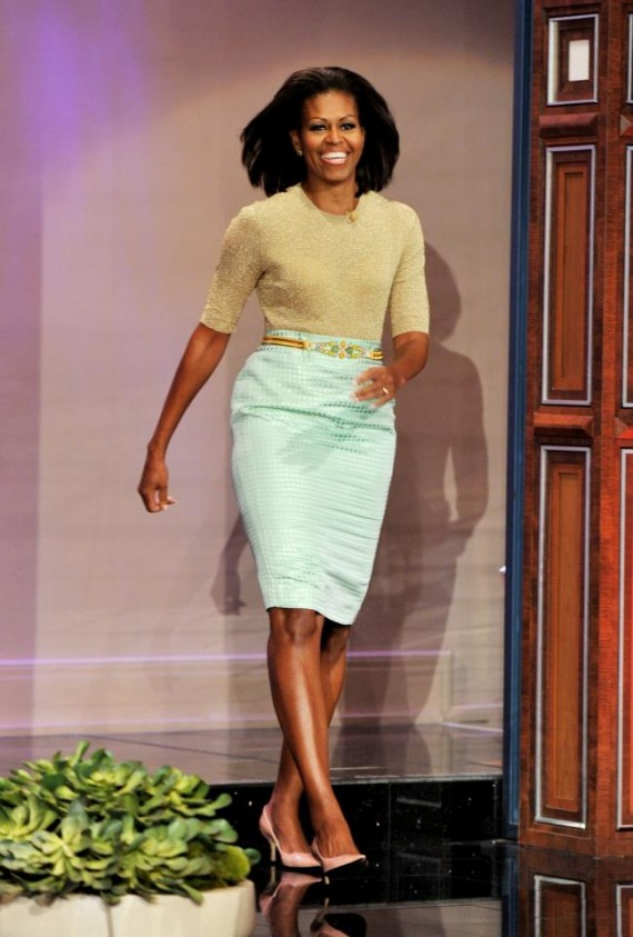 Michelle Obama Style, Plus size fashion