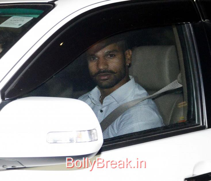 Shikhar Dhawan, Bollywood Celebrities, Cricketers Attend Suresh Raina's Wedding
