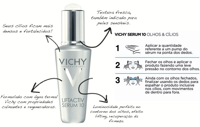 Vichy Sérum 10 Olhos e Cílios