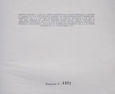Vittorio Tavernari - rara edizione numerata - collezionismo - libri - annunci