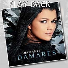 playback cd diamante damares