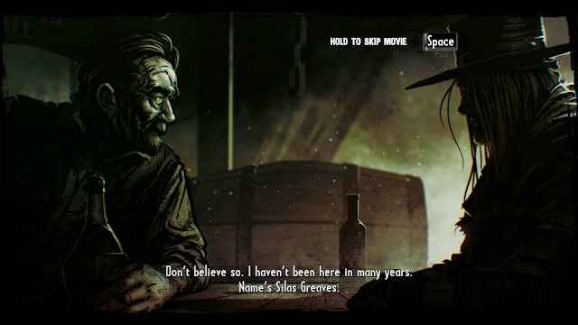 The story of Silas Greeves from the game Call of Juarez