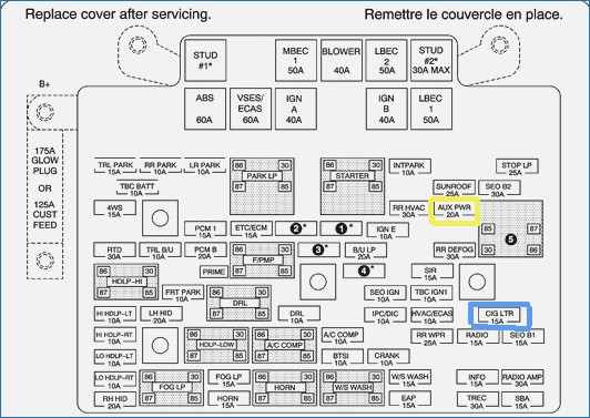 Fuse Diagram For Hummer H3 Wiring Diagram
