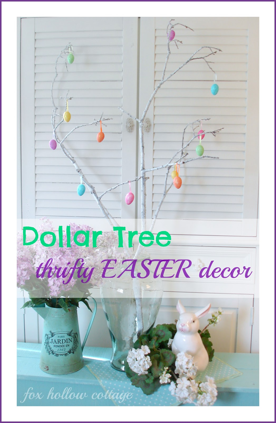2 Bucks And A Branch Easter Decor Fox Hollow Cottage
