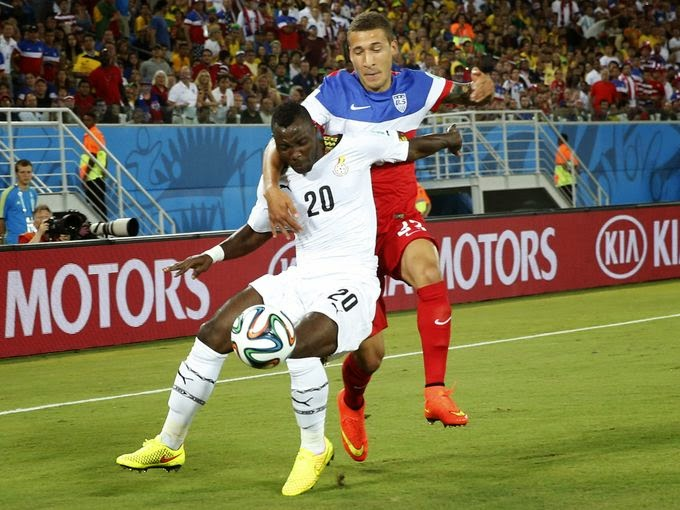 USA Beat Ghana 2-1 in World Cup Group G