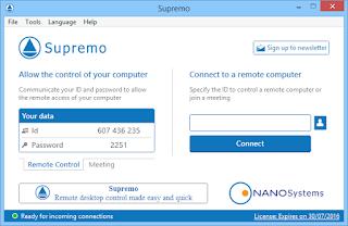 تنزيل برنامج Supremo للتحكم فى الكمبيوتر عن بعد