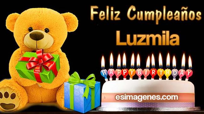 Feliz Cumpleaños Luzmila