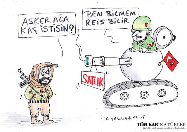 savunma sanayi karikatür