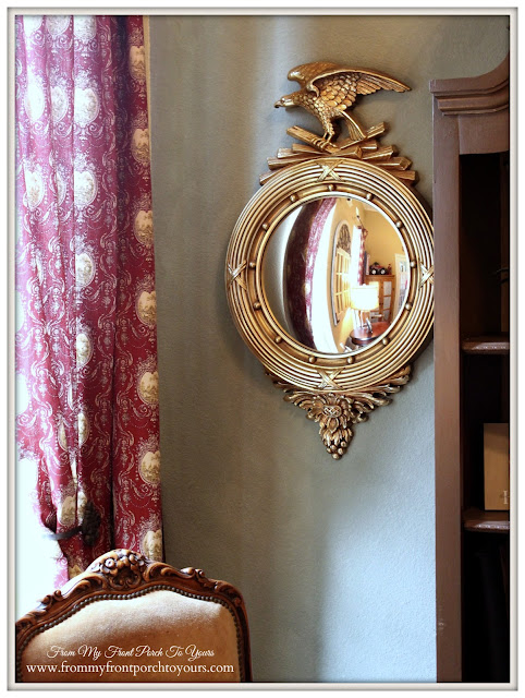 Federal Mirror-French Country Home Office- From My Front Porch To Yours
