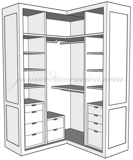 Dise ar armarios empotrados - Interior de armarios ikea ...