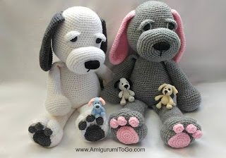 Free Amigurumi Dog Patterns : A sincere thank you for your donation ~ amigurumi to go