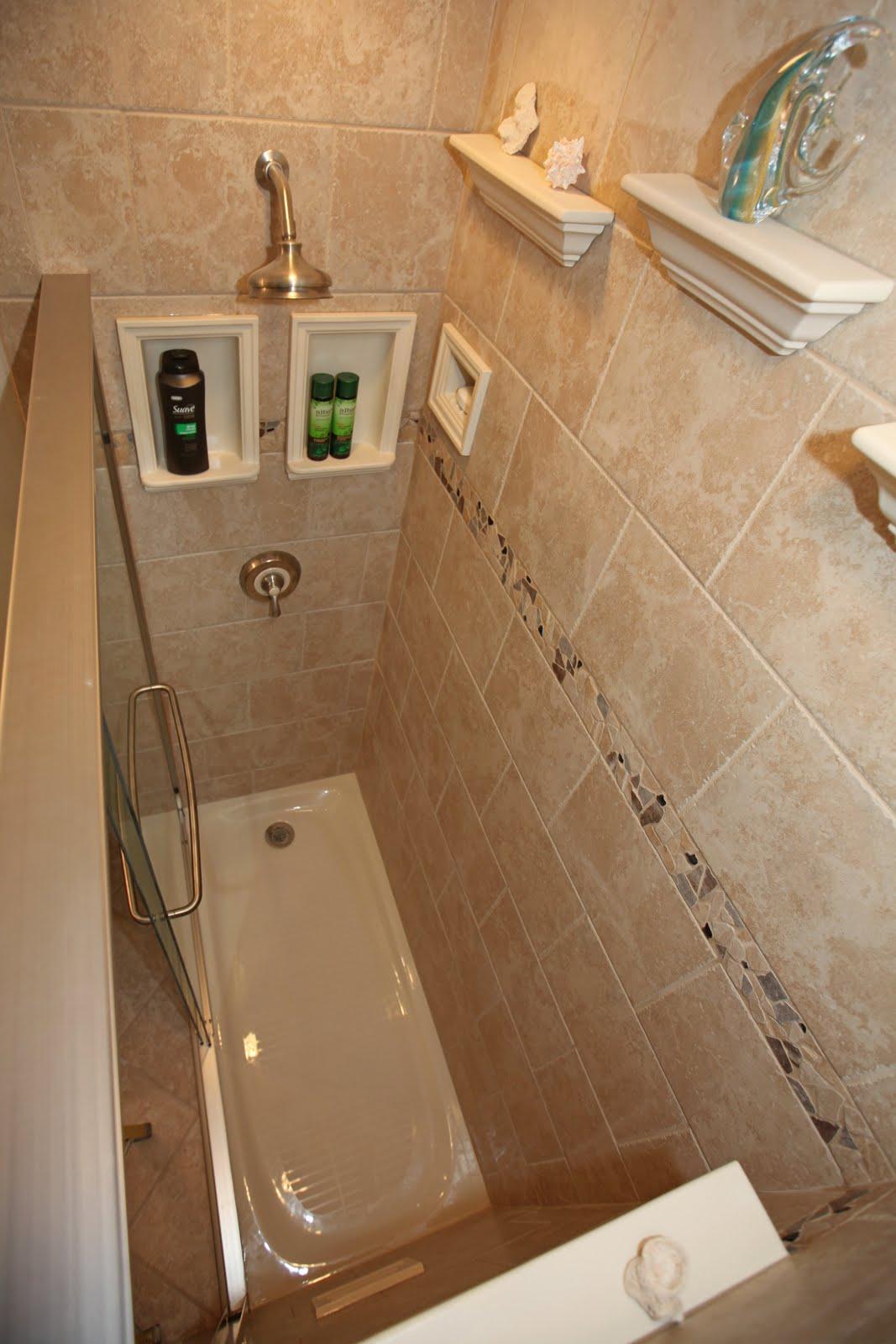 Bathroom Remodeling Design Ideas Tile Shower Niches ...