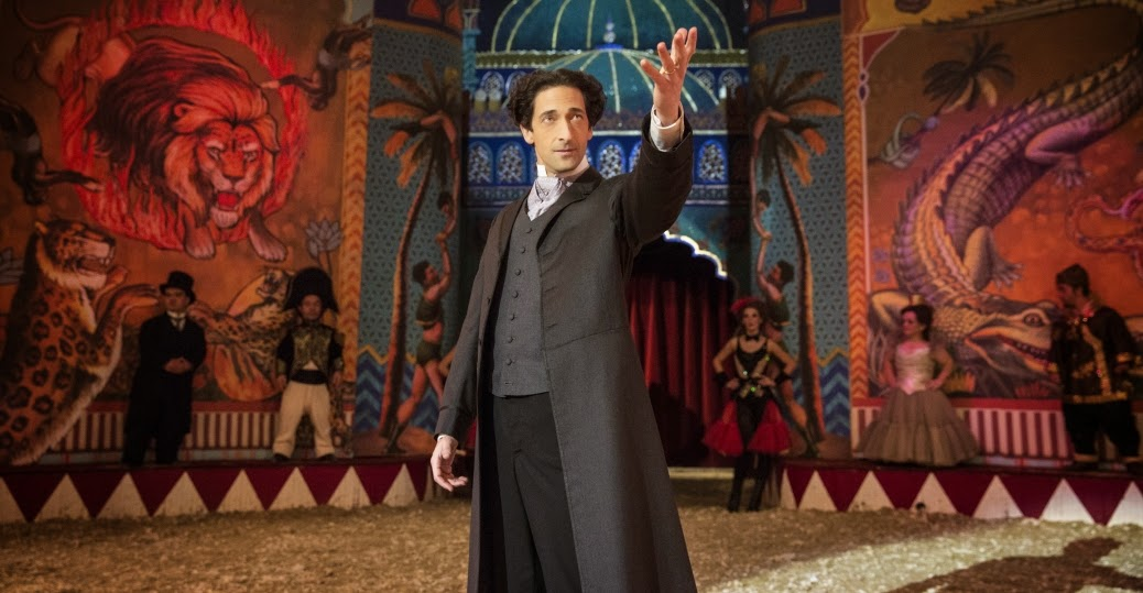Adrien Brody as Harry Houdini in History Channel TV Mini-Series Houdini