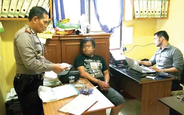 Amin Pengedar Sabu Kelurahan Limau Sundai Ditangkap