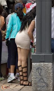 mujeres sexys vestidos ajustados