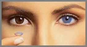 A FreshLook színes kontaktlencsék színei közül a legnépszerűbb a kék. Ezek  a kontaktlencsék szinte teljesen elfedik az eredeti szemszínt 1f8519b3ba