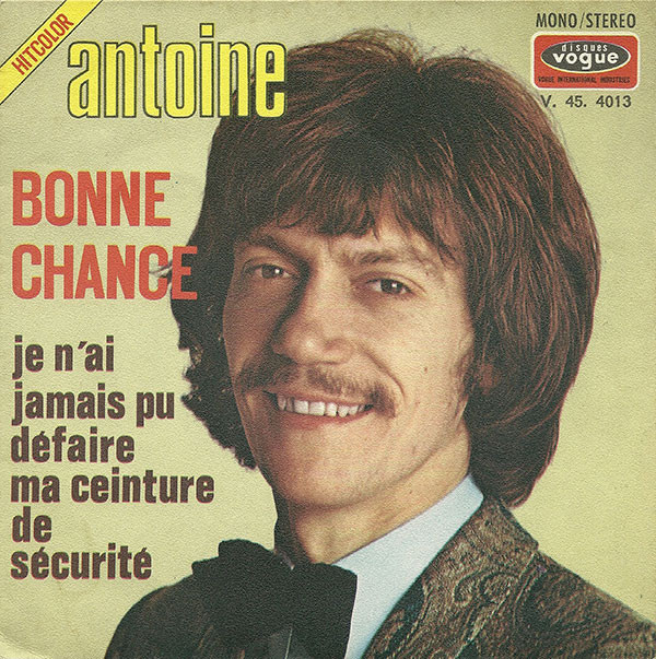 antoine singles Antoine clamaran (born 8 november 1964) is a french house music artist and music remixer  the leading single from his 2009 album spotlight, gold, .