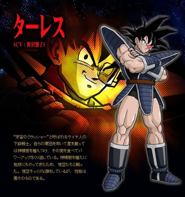 Dragon Ball Enciclopedia Tarles
