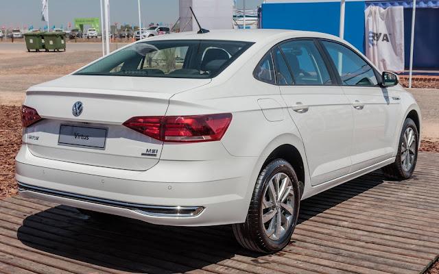 VW Virtus nacional é lançado no Paraguai