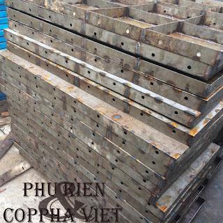 Yêu cầu về sản xuất coppha thép