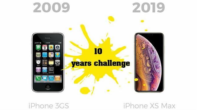 تحدي الـ 10yearschallenge لأفضل الشركات المصنعة للهواتف الذكية
