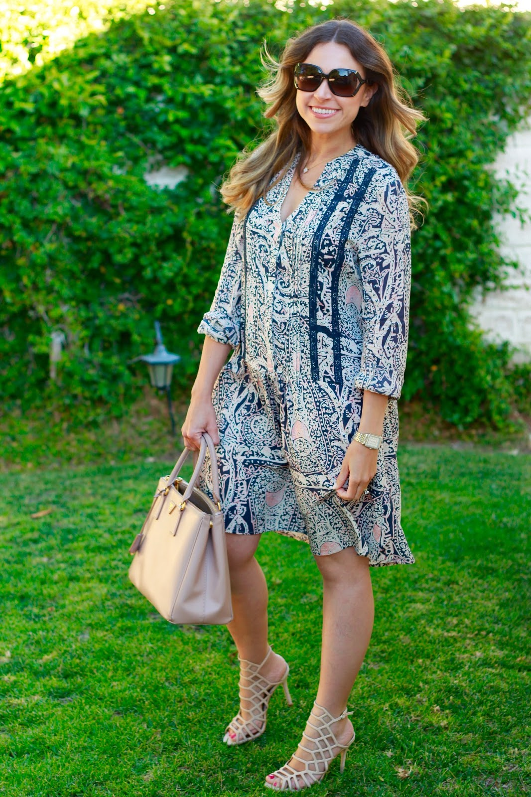 sweet september blog shirt dress