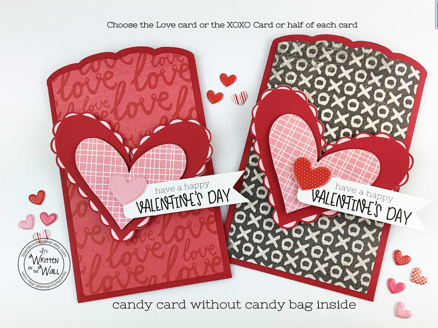 Valentine Candy Card/Treat Bag