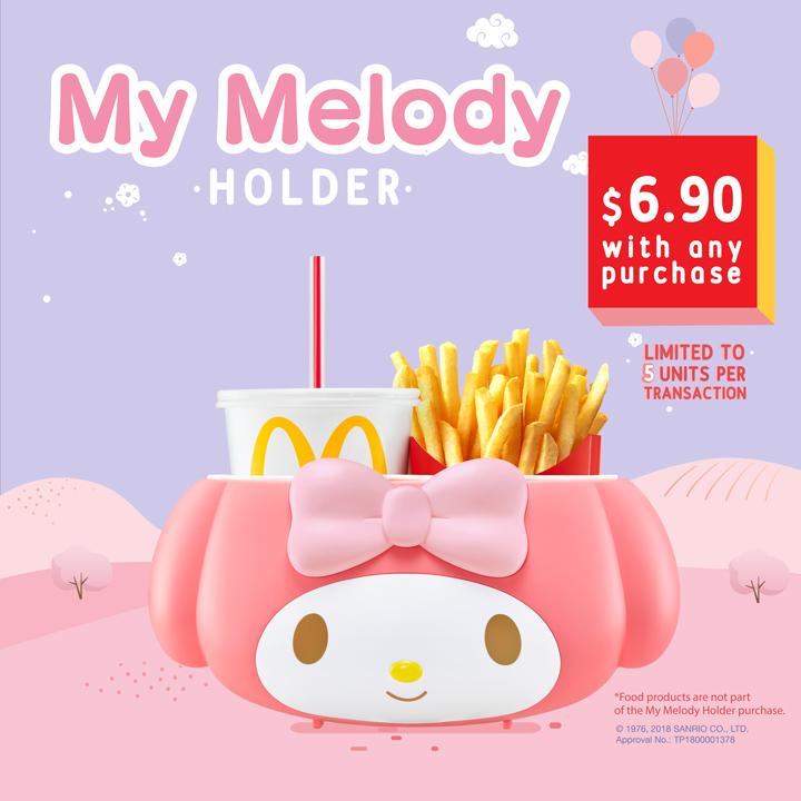 麥當勞Melody手提餐盒被炒到RM150 - WINRAYLAND