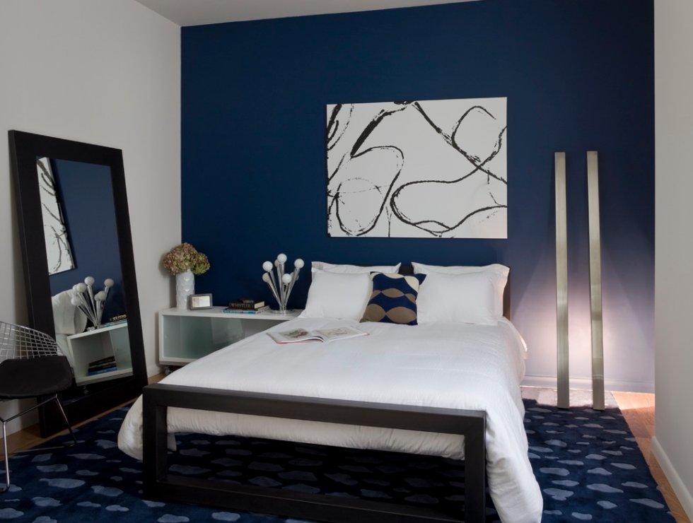 Blog achados de decora o decora o em azul a cor mais amada do mundo - Tinta camera da letto ...