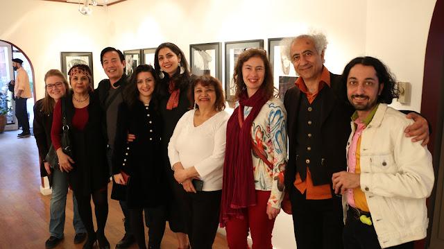 Festival Accès Asie - Exposition Parisa Rajabian-Galérie MEKIC- Photos Shahrzad Ghaffari Hotel Auberge Manoir Vialle Marie Montréal, Canada