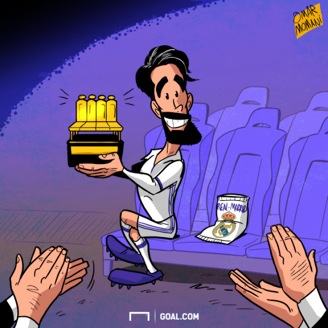 Isco cartoon