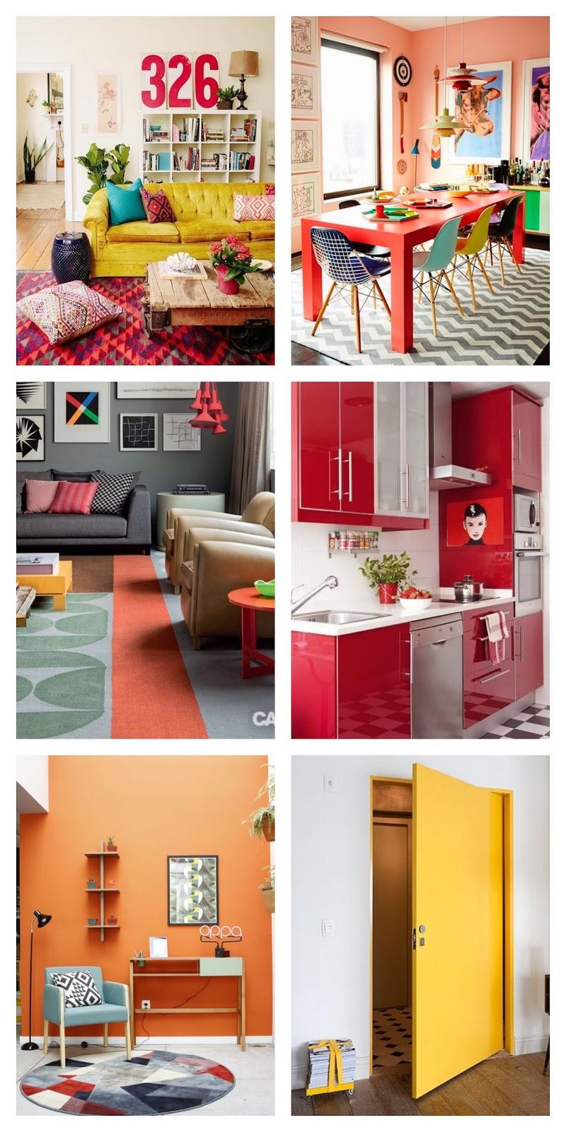 Como escolher a melhor cor para a decoração da casa