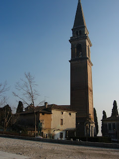 The church of Santa Maria in Colle in Montebelluna