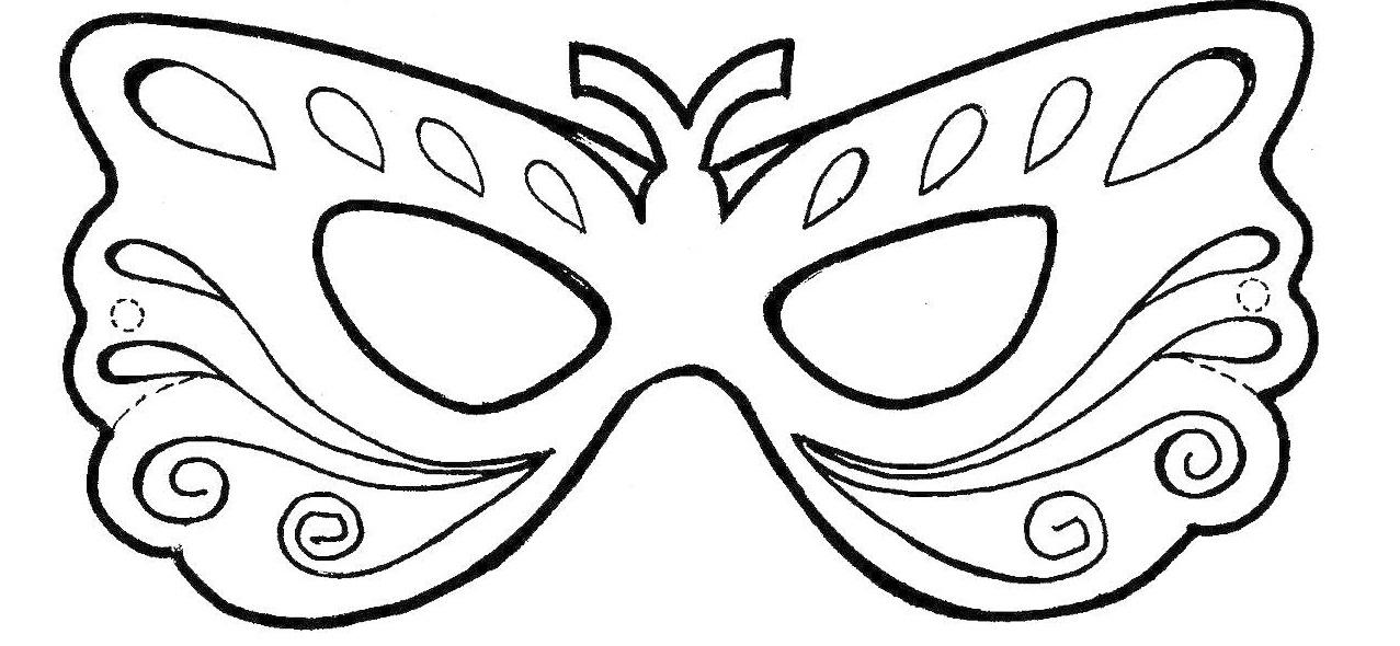 Mascara De Carnaval Para Colorear Es Para Colorear