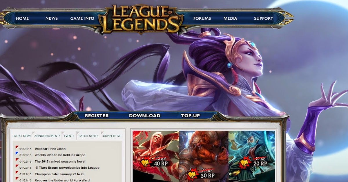 League of Legends via Proxy - elitepvpers.com